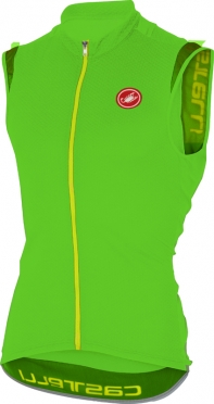 Castelli Entrata 2 jersey sleeveless green men