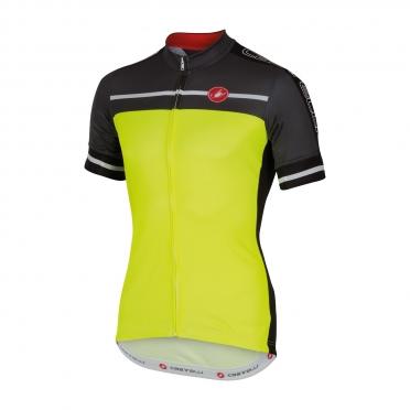 Castelli Velocissimo jersey yellow men 16015-032