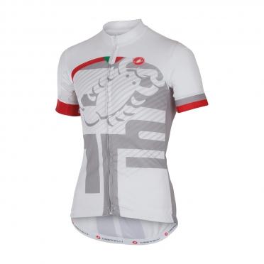 Castelli Veleno jersey white men 16018-001