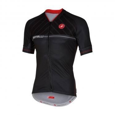 Castelli Scotta jersey black men 16020-010