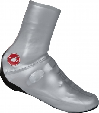 Castelli Aero nano shoecover silver men 16032-003