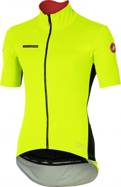Castelli Perfetto light short sleeve jersey yellow men 16045-032