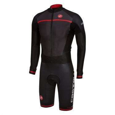 Castelli CX 2.0 speedsuit black/red men