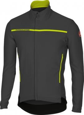 Castelli Perfetto long sleeve jacket anthracite men