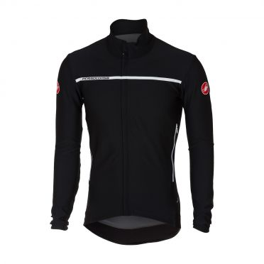 Castelli Perfetto long sleeve jacket light black men