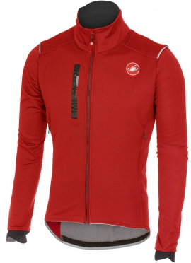 Castelli Espresso 4 jacket red men 16509-017