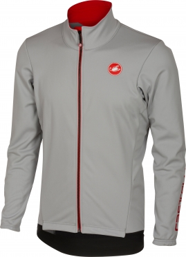 Castelli Senza 2 jacket luna grey men 16510-080