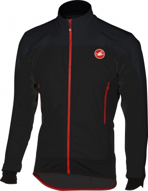 Castelli Mortirolo 4 jacket black men 16511-010