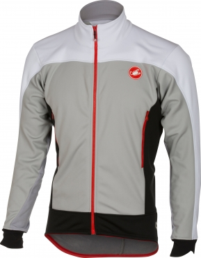 Castelli Mortirolo 4 jacket grey men 16511-080