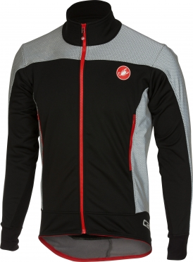 Castelli Mortirolo reflex jacket black men 16512-010