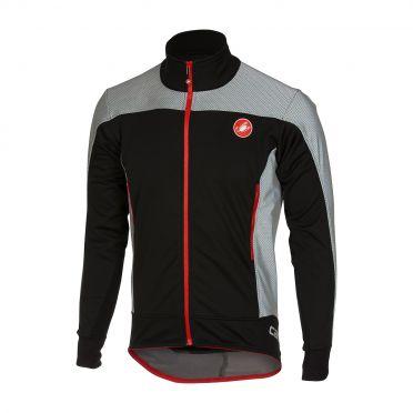 Castelli Mortirolo reflex jacket black men 16512-010