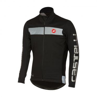 Castelli Raddoppia jacket black/reflex men 16514-010
