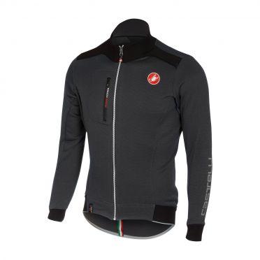 Castelli Potenza jersey FZ anthracite men 16515-009