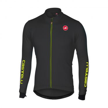 Castelli Puro 2 long sleeve jersey light black men