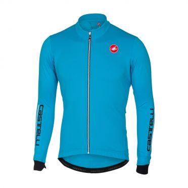 Castelli Puro 2 long sleeve jersey blue men