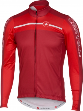 Castelli Velocissimo jersey FZ red men 16517-017