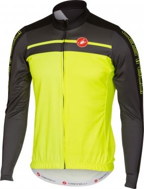 Castelli Velocissimo jersey FZ yellow-fluo men 16517-032