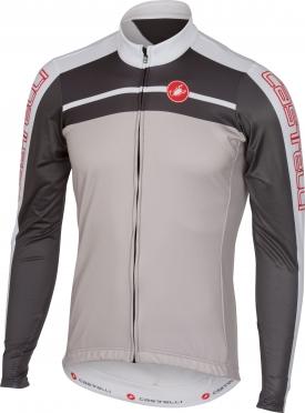 Castelli Velocissimo jersey FZ grey men 16517-080