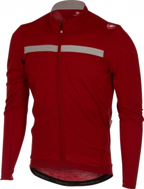Castelli Constante jersey FZ red men 16519-017