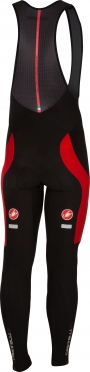 Castelli Velocissimo 3 bibtight black/red men 16522-231