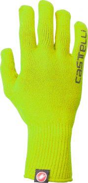 Castelli Corridore glove yellow fluo men