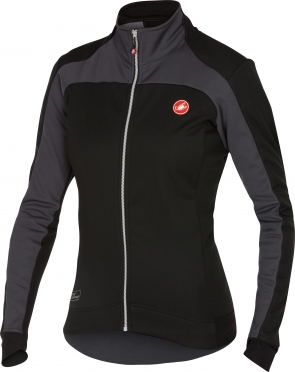 Castelli Mortirolo 2 W jacket black/anthracite women 16541-010