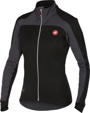 Castelli Mortirolo 2 W jacket black/anthracite women 16541-010