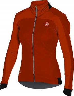 Castelli Mortirolo 2 W jacket red women 16541-017