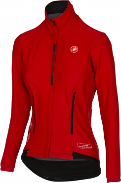 Castelli Perfetto W long sleeve jacket red women 16542-023