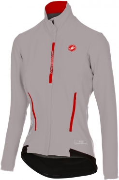 Castelli Perfetto W long sleeve jacket grey women 16542-080