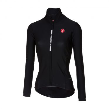 Castelli Perfetto W long sleeve cycling jacket black women
