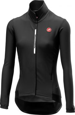 Castelli Perfetto W long sleeve cycling jacket black women