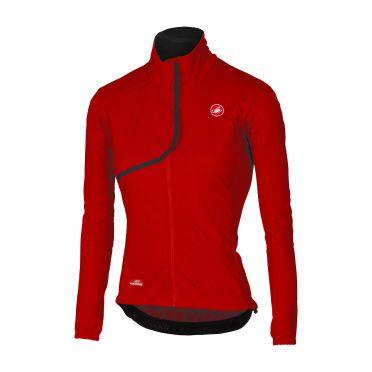 Castelli Indispensabile long sleeve jacket red women