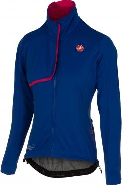Castelli Indispensabile jacket blue/raspberry women 16543-057
