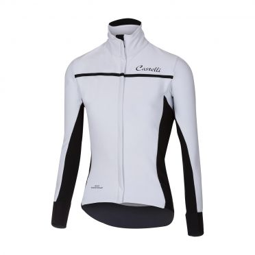 Castelli Trasparente 3 W long sleeve jersey white women