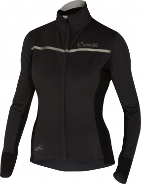 Castelli Trasparente 3 W jersey FZ black women 16544-009