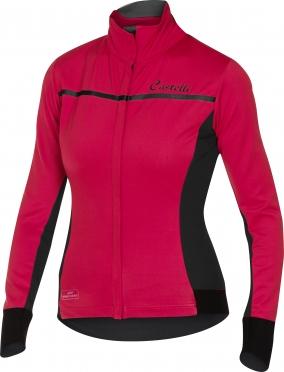 Castelli Trasparente 3 W jersey FZ raspberry women 16544-011