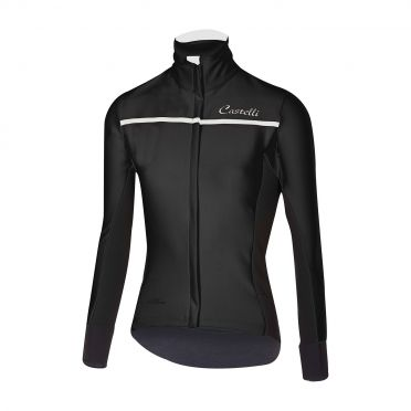 Castelli Trasparente 3 W long sleeve jersey black women