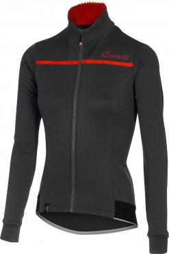 Castelli Potenza W jersey FZ anthracite women 16546-009