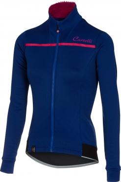 Castelli Potenza W jersey FZ blue women 16546-057