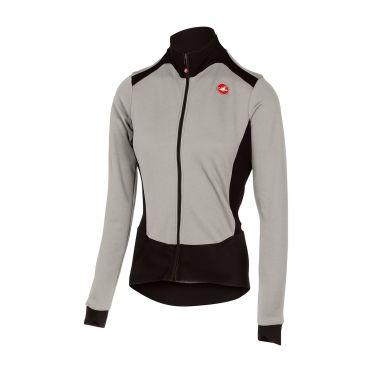 Castelli Sciccosa long sleeve jersey gray women
