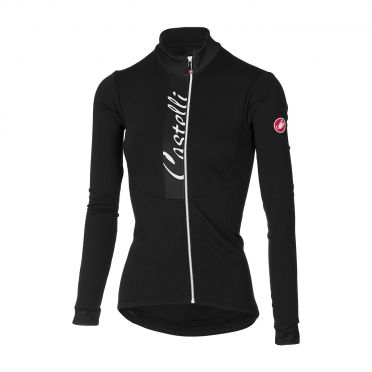 Castelli Sorriso long sleeve jersey black women