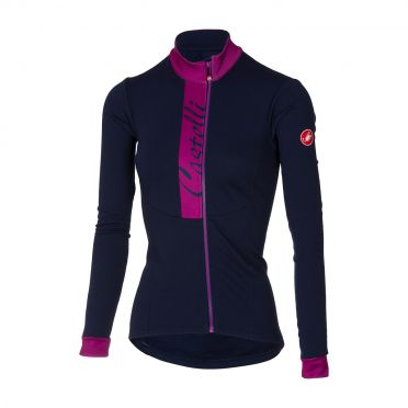 Castelli Sorriso long sleeve jersey blue/purple women