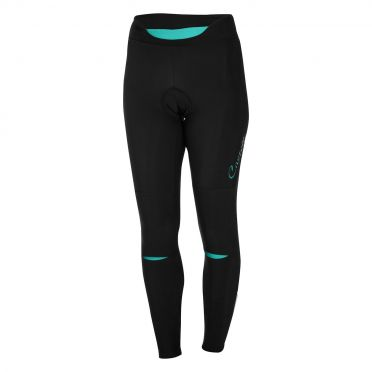 Castelli Chic tight black/turquoise women