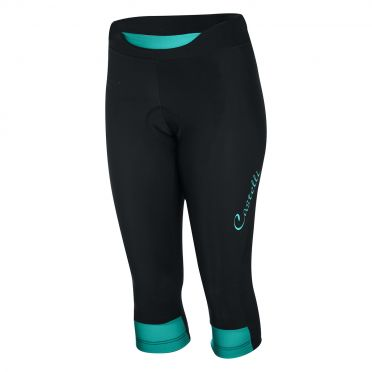 Castelli Chic knicker black/turquoise women