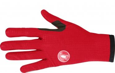 Castelli Scudo W cycling glove red women 16556-023