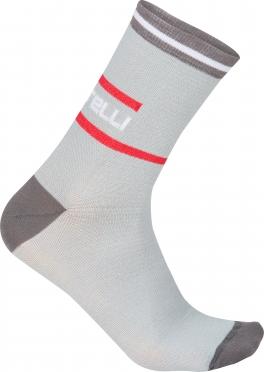 Castelli Incendio 12 sock grey men 16569-008
