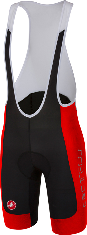 Castelli Evoluzione 2 bibshort black/red men