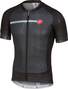 Castelli Aero race 5.1 jersey black/blue men