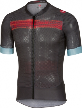 Castelli Climber's 2.0 jersey anthracite/red men